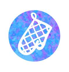 hand drawn icon potholder vector image