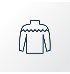 Knitwear icon line symbol premium quality vector