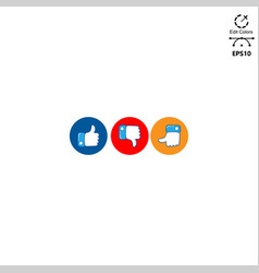 logo design pack social media vector image