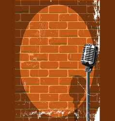 Musical event poster grunge vector