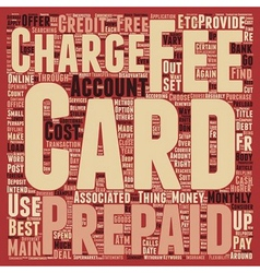 Prepaid Credit Cards How To Choose The Right vector image