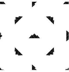 Pyramids pattern seamless black vector