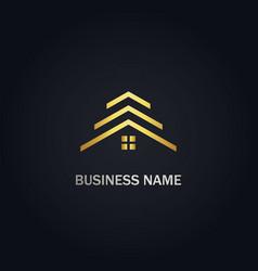 rorealty company logo vector image