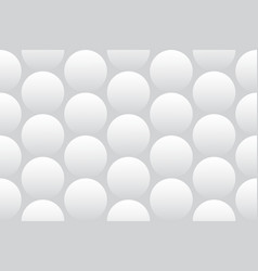 Seamless texture with 3d balls on a white vector