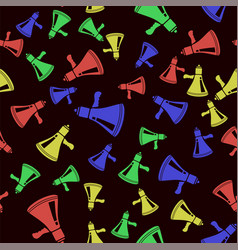 colorful speaker texture on black background vector image vector image