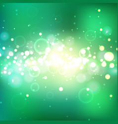 shining summer background with light effects vector image vector image