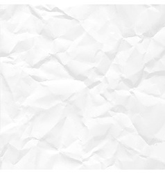 paper crumpled vector image vector image