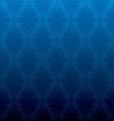 blue tattoo vector image