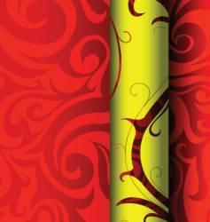 tribal wallpaper graphic design vector image vector image