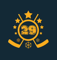 29 number vector image