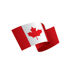 canada flag vector image