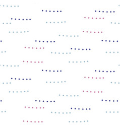 doodle dots abstract seamless simple pattern vector image