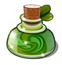Elixir health and longevity is made of vector
