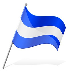 flag of Salvador vector image