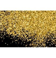 Gold black horizontal vector