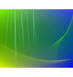 Green abstract cloth texture background vector