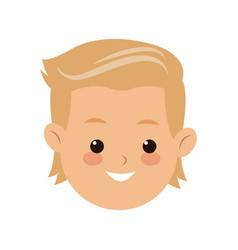 head face boy son kid image vector image