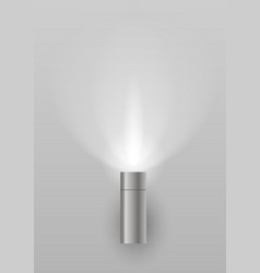 Light sconces for facade vector