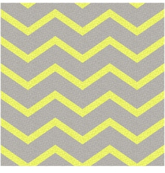 Seamless yellow grey zig zag texture vector