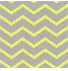 seamless yellow grey zig zag texture vector image