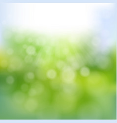 spring time poster vector image