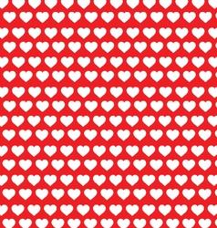 White heart pattern vector