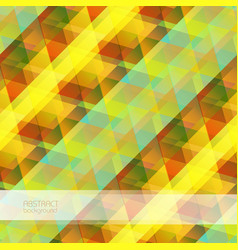 motion geometric colorful background vector image vector image
