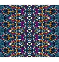 Ethnic tribal festive pattern for fabric vector
