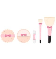 cosmetics bush vector image vector image