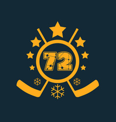 72 number vector image