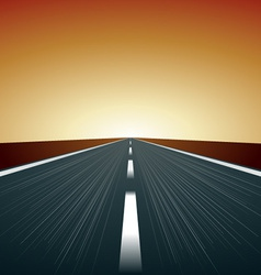 Blurred road vector