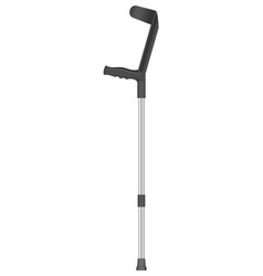 Elbow crutch icon realistic style vector