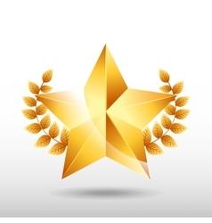 Film award design vector