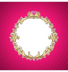 Frame barocco vector