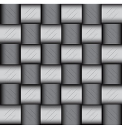 Glossy metalic mosaic pattern vector image