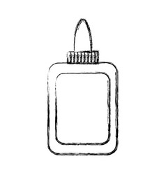 glue bottle icon vector image