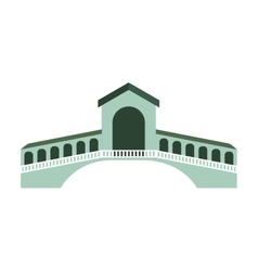 london bridge isolated icon vector image
