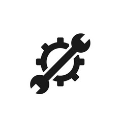 mass production settings icon - simple element vector image