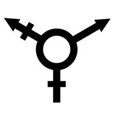 Sign symbol gender equality vector