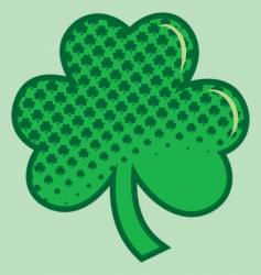 Ugly shamrock vector