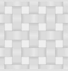 White wicker background vector