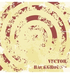Abstract spiral grunge pattern background vector image vector image