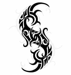 tattoo graphic design vector image vector image