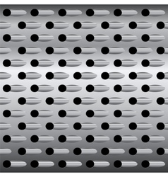 Background texture steel grater background vector image