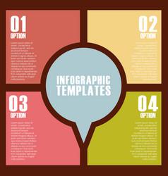 Infographic templates design vector
