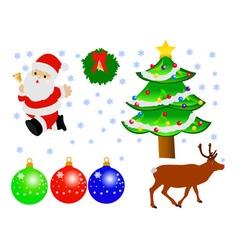 Christmas decoration vs vector