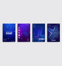 Electro summer wave music poster club night flyer vector