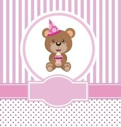 Happy birthday bear 5 copy vector