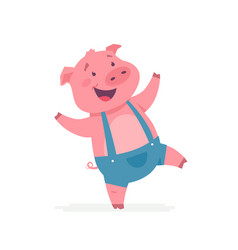Foot Pig Vector Images Over 200