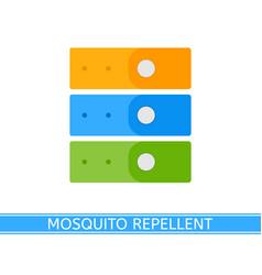 Mosquito repellent bracelet vector